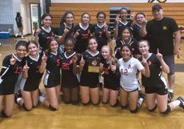 The Ayala High frosh-soph girls volleyball team