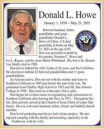Donald L. Howe