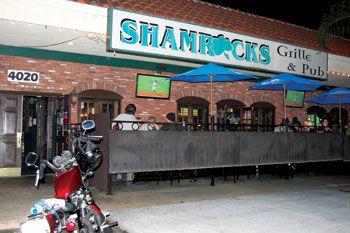 at Shamrocks Grille & Pub