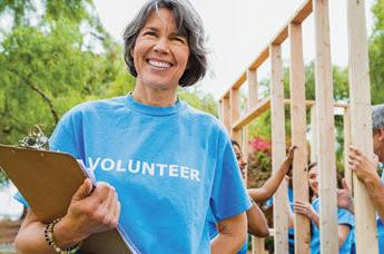 Volunteering can be as beneficial