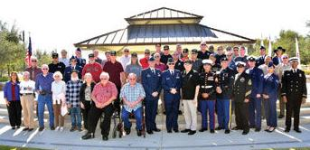 Veterans honored by the city of Chino Hills