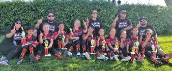 The Chino Hills Girls Softball Ragin' Cajuns