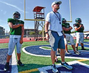 Chino Hills High head coach Chris Stevens