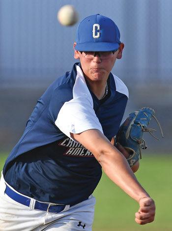 Chino American pitcher
