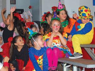 Kindergarten circus