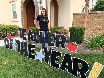 Don Lugo High teacher Annette Demin