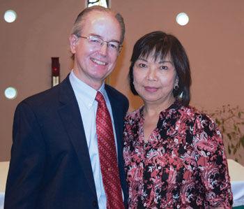 John Duffy and his wife Teresita