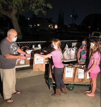 Chino Hills Girl Scout Troop 70784