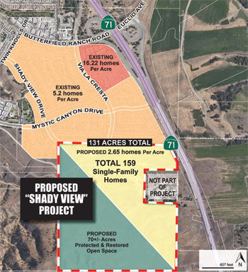 Proposed Shady View development