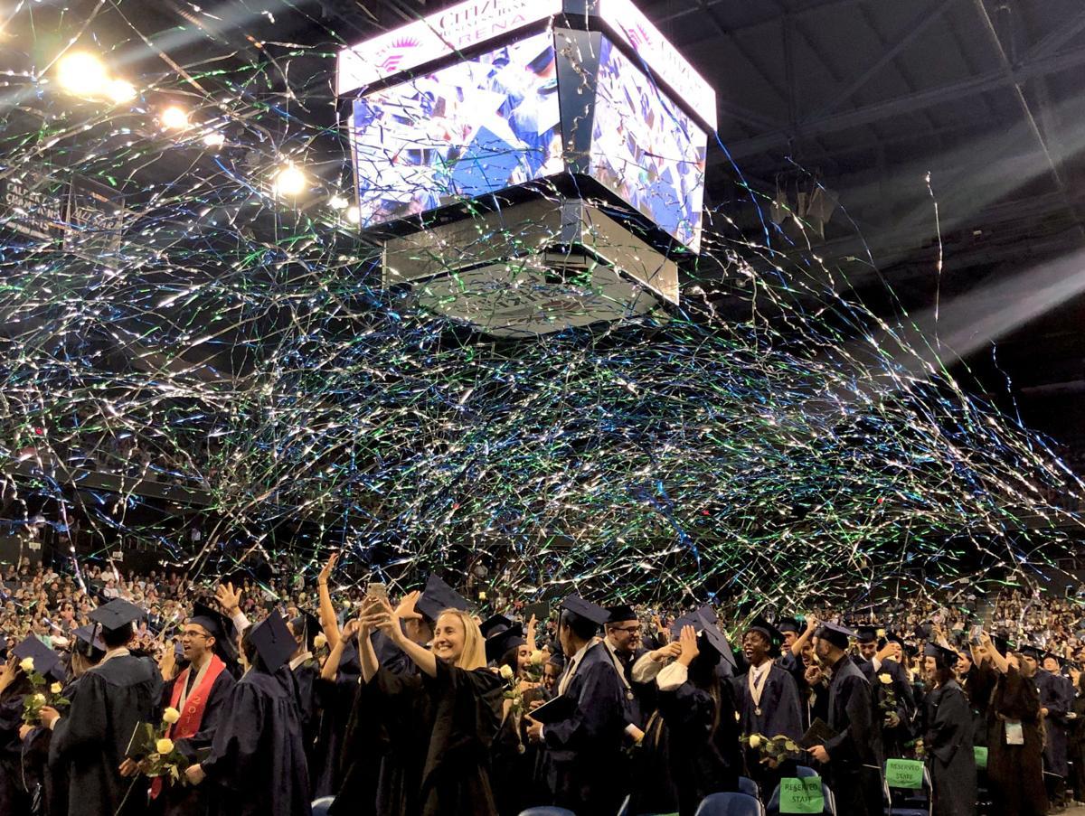 Chino Hills High School Class of 2019 graduation ceremony May 29, 2019