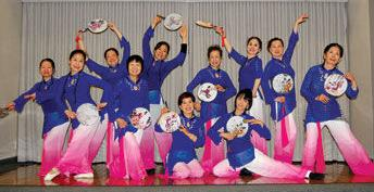 Chinese-style dance class