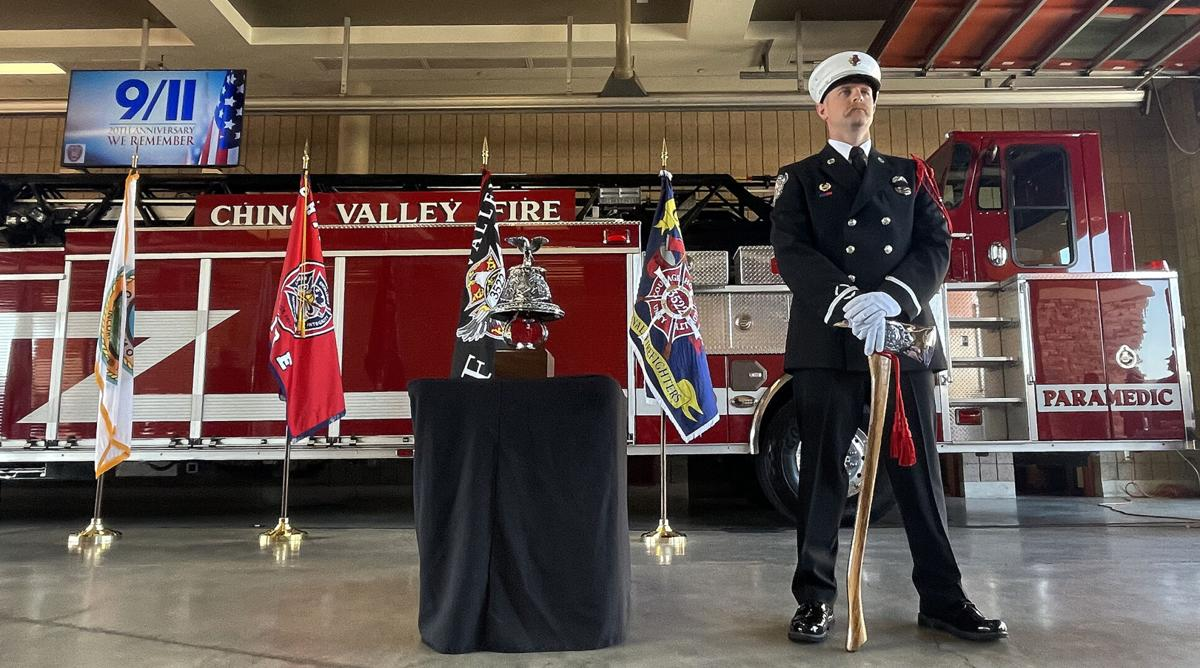 Chino Valley Fire honors victims of Sept. 11 terrorist attacks with 20th anniversary remembrance ceremony