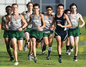Ontario Christian cross country competes in first meet of 2021
