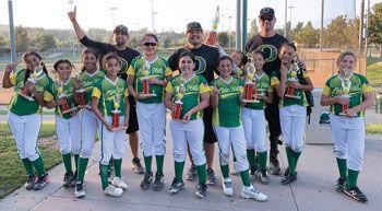 Ducks softball team