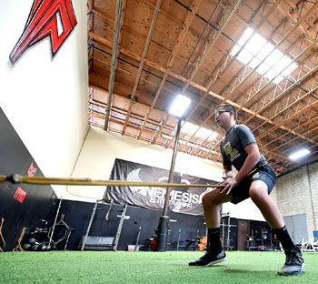 Anthony Randazzo training