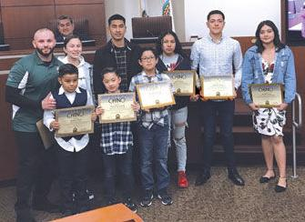 Chino Boxing Club monthly winners for 2019