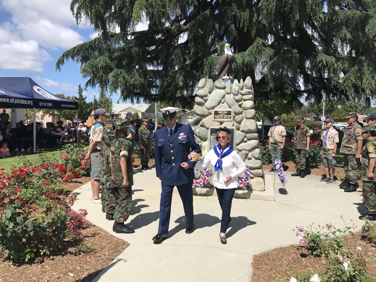 Chino's Memorial Day observance