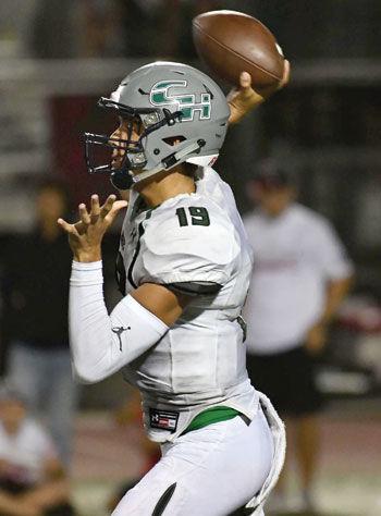 Chino Hills High quarterback Matthew Geeting