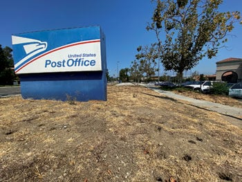 Post Office rejects landscaping help