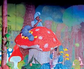 Ayala High School Theater Department's production of Alice in Wonderland