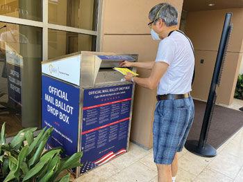 Registrar assures security at drop boxes