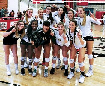 Ontario Christian High girls' volleyball team