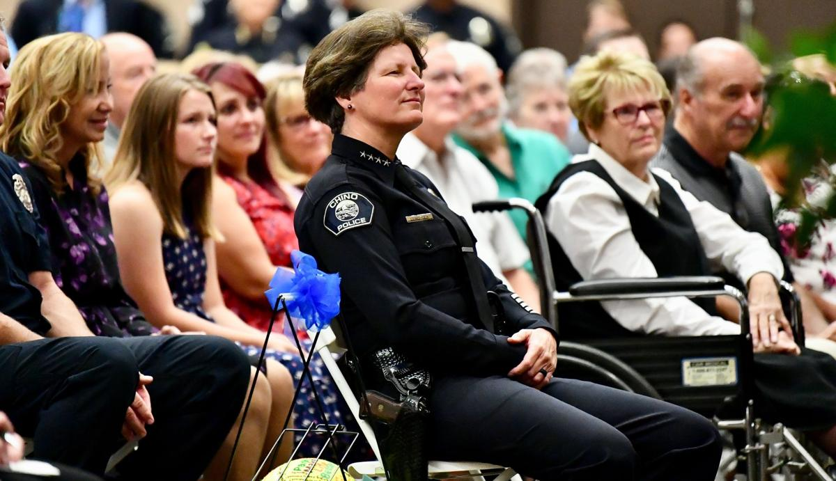 Chino Police Chief Karen Comstock