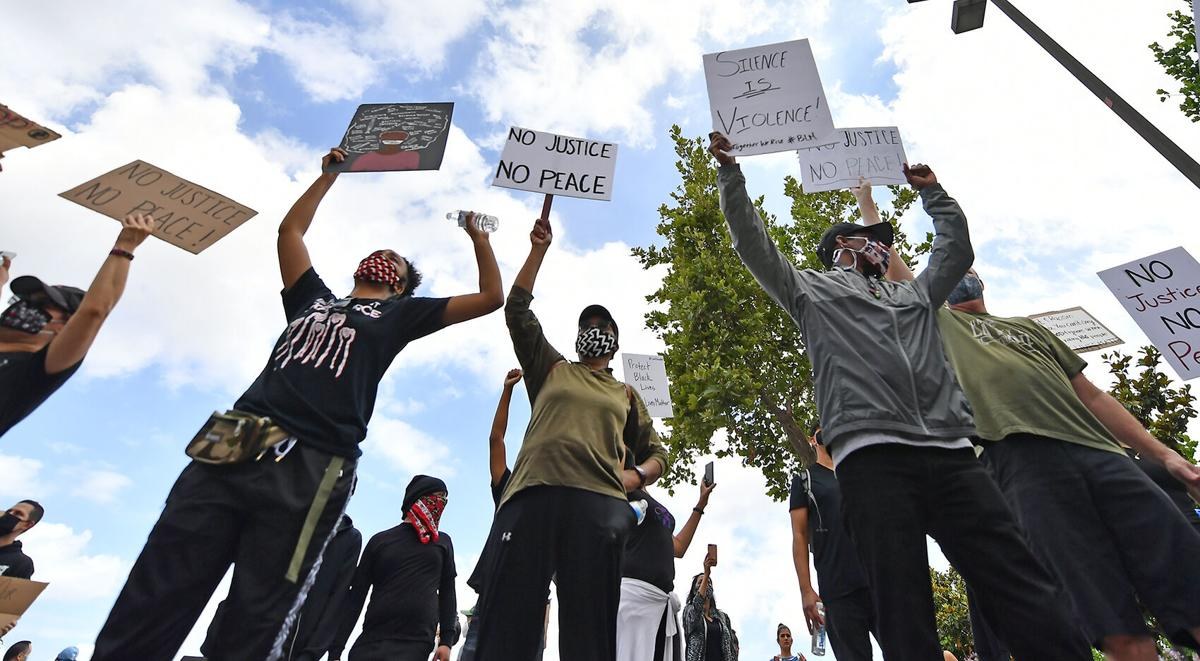 Hundreds attend peaceful protest in Chino Saturday, June 6, 2020