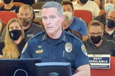 Chandler Police Chief Sean Duggan