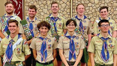 Eagle Scouts in Troop 283 of Chandler