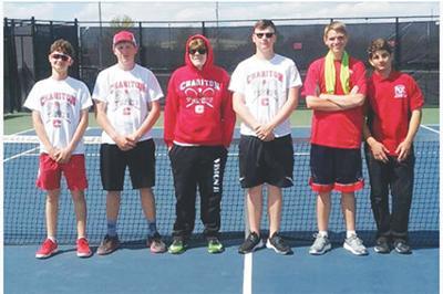 Chariton boys tennis team places third at District Tournament