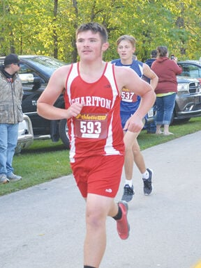 Chariton boys place third at Charger  Invite X-C meet at Red Haw