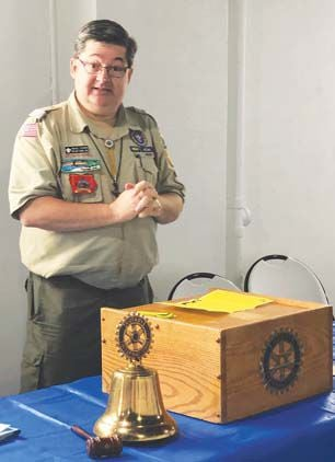Chariton Rotary hears update on Boy Scout program from District Director Mike O'Connor