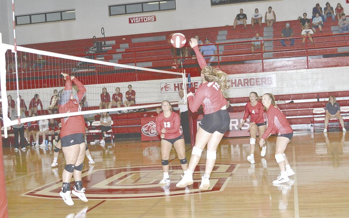 CHS Varsity volleyball team beats Central Decatur, loses to Wayne at home triangular
