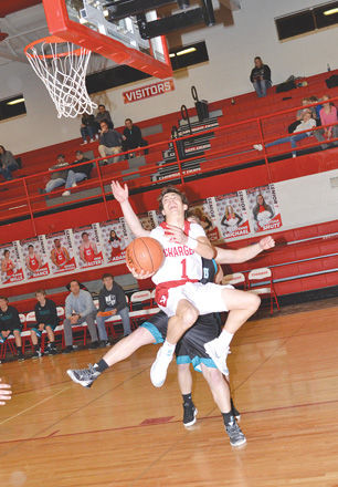 Varsity boys beat SW Valley on Senior Night