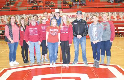 Boosters donate to Archery program, Drill Team
