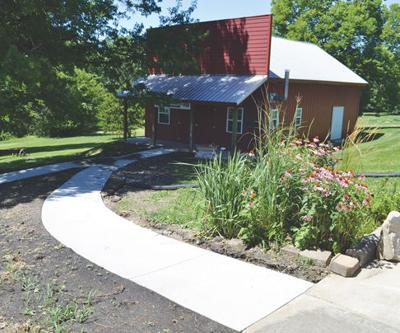 New concrete pathways now up at Lucas County Historical Museum