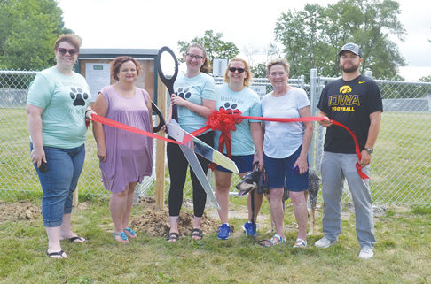 Dog Park ribbon cutting