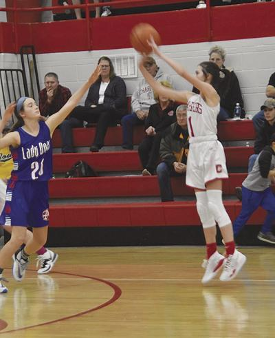 Lady Chargers use big second half to steamroll Albia, 70-42