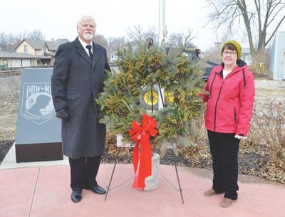 Wreath Across America ceremony held at Veterans Memorial Park