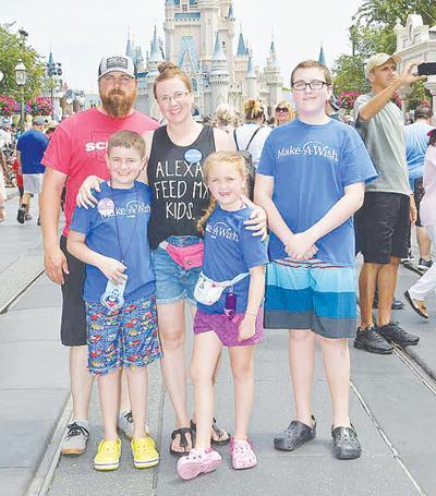 Carrolls at Disney World