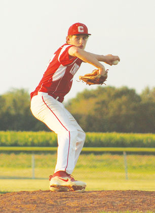 Aidan Mundt pitching
