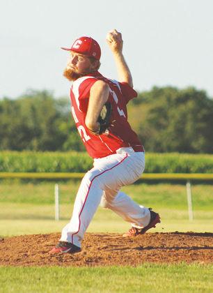 Ashton Vitale pitching