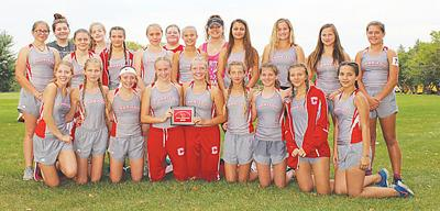 Chariton girls cross country team is Central Decatur meet champions