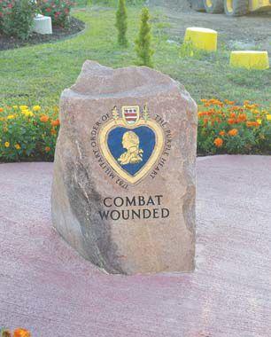 Purple Heart Memorial at park