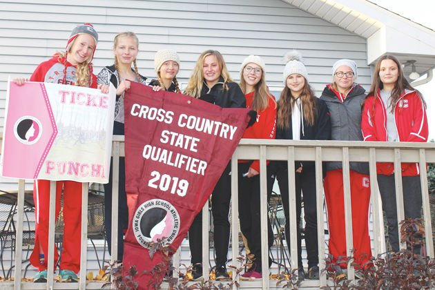 Seven girls and alternate going to State