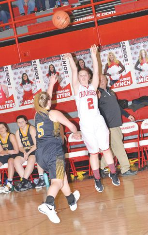 Lady Chargers come from behind to down Rockets in thrilling SCC game