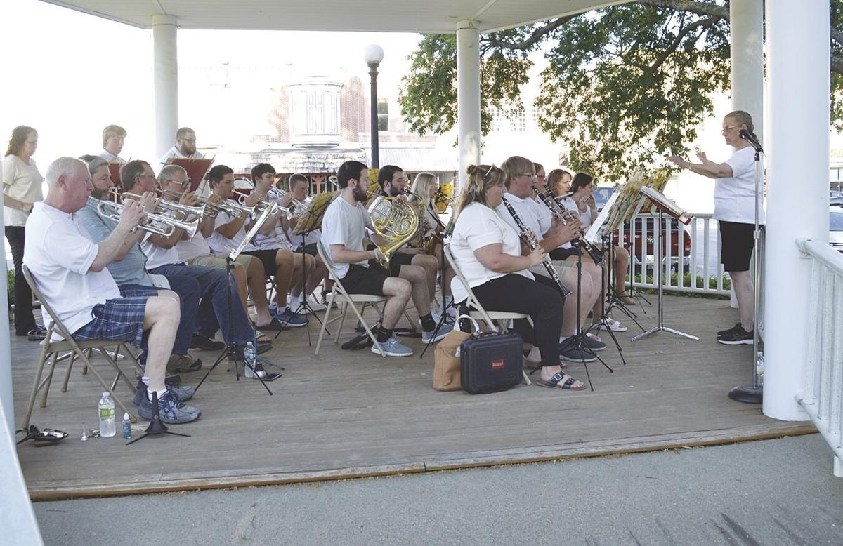 Chariton Community Band kicks off summer concert series on the Square