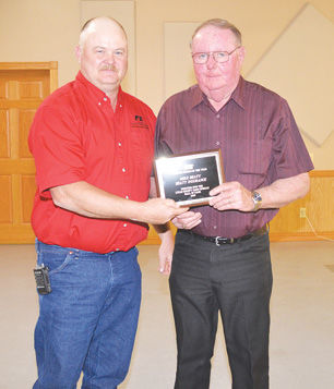Mike Beaty inducted into Farm Bureau Hall of Fame