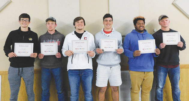 1st team all district selections